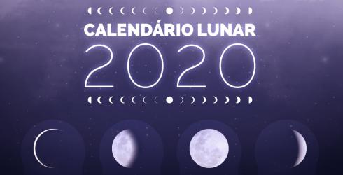 Calendário Lunar 2020 - Astrologia com Claudia Lisboa